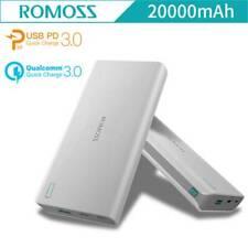 ROMOSS Sense 6+ QC3.0 LED 20000mAh Portable Charger Power Bank External Battery