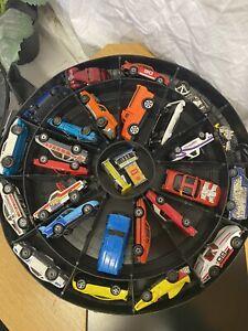 Hot wheels Super Rally Case Cars Set