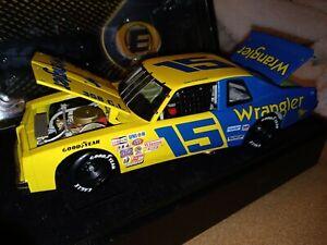 Dale Earnhardt Sr #15 Wrangler 1/24 ELITE 1982 DAYTONA WIN 1979 Ventura