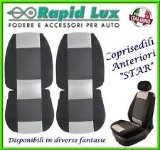 """Coppia fodere coprisedili anteriori Star per Toyota Yaris fantasia """"S31"""""""