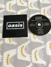 Oasis What's The Story Morning Glory Original Mega Rare promotional Copy cd 1995