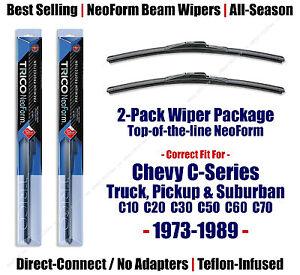 2pk Super-Premium NeoForm Wipers - fit 1973-1986 Chevrolet Chevy C10 - 16160x2