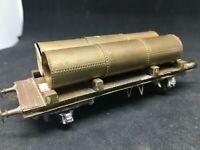 GWR wagon plat transport tubes métal OO gauge kit metal monté mallard ?
