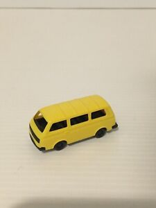 VW BUS MADE IN W. GERMANY HO 1/87 SCALE PLASTIC.