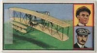 Wright Brothers Airplane Invention Kitty Hawk Fight  Vintage Trade Ad Card