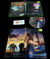 DEAD OR ALIVE 3 Microsoft TECMO JAP XBOX Completo Buen estado Lucha Team NINJA