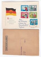 DDR East Germany FDC 1964 15th Anniversary of DDR first day cover postal history