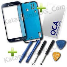 Kit Completo Reparacion Cristal pantalla Samsung Galaxy S4 i9505 i95000 Negro