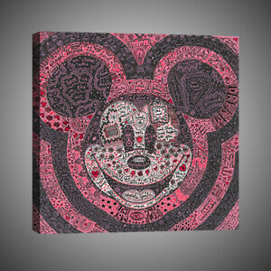 Painting Home Wall Decor Disney Mickey Mouse Forevermore Canvas Art Print12x12