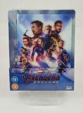 Avengers Endgame 3D Steelbook Lenticulaire (Blu-ray 2D Inclus) Zavvi