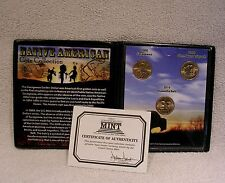 Sacagawea Native American Commemorative Coin Collection  - Golden Dollar