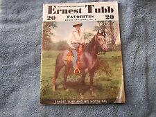 Ernest Tubb Favorites Radio Songbook #3 1943