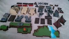 44 pieces Pirate Mega Bloks Building Blocks Large Skull Atlantis Ruins Egypt?