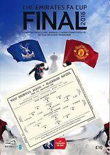 Crystal Palace Home Teams C-E Football FA Cup Fixtures