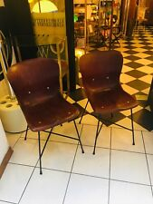 COPPIA DI SEDIE 50s PAGWOOD COMPENSATO CURVATO MADE IN GERMANY PAG CHAIRS