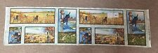 Sage County Canines 8 Dog Scenes Hunting Quilt Fabric PANEL 1/3rd yard