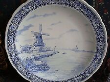DELFTS Royal Sphinx - Boch - Maastricht wall platter- House Besides the Water[*]