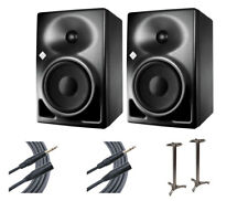 2x Neumann KH120A Active Speaker Monitors + MS-90/45B MKII + Mogami Cables