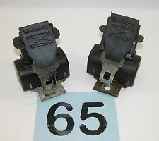 82-87 Camaro Firebird Dark Gray Rear Seat Belt Retractors  GREAT PAIR  #65