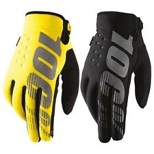 100 Percent MX Handschuhe Brisker Cold Weather schwarz L