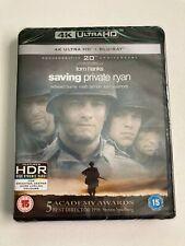 Saving Private Ryan (4K Uhd + Blu-ray, 3 Discs, Region Free) *New/Sealed*