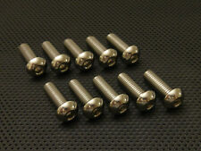 BMW R1100s Boxer Cup Titanium Front Disc Bolts Ti Rotor Mounts