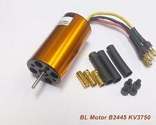 KMBL24K37: 1x Inrunner BL Motor B2445 KV3750 S2mm for RC Boat,Airplane, Car ,DIY