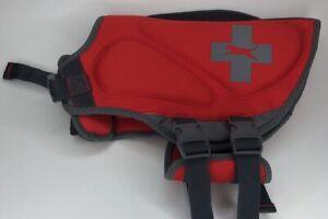 Neoprene Dog Life Jacket - TOP PAW - Sz Medium 30 - 50 lbs - Red MFRP $44.99