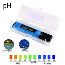 Pocket Ph Meter Fish Tank Digital Water Tester Aquarium Pool Water Test Pen