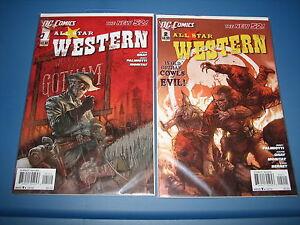 DC Comics The New 52 All Star Westen November December 2011 #1 & #2