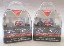 Ultra Power Bulb H1 5000K Bright White Two Pairs - Bulb Pack