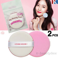 2PCS ETUDE HOUSE Magic Any Cushion Pink Air Puff / Sponges fuff / k-beautybox