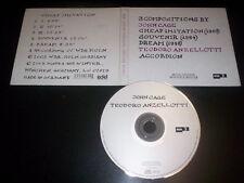 Teodoro Anzellotti · John Cage CD digipak Winter & Winter – 910 080-2 Germany