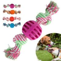 Braided Rope Pet Dog Toys Chew Pull Toy Dog Toy For Aggressive Chewers W3A9