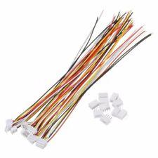10 Sets JST ZH-1.5 28AWG 4-pin Anschlussstecker mit Drähte Kabel 150MM SD NEU