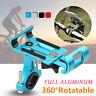 Aluminium 360 ° Support Guidon Vélo Moto VTT Téléphone Pour iPhone Samsung GPS