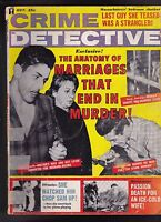 Crime Detective Magazine Marriage that Ended in Murder  October 1962