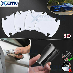 3D Invisible Thick Door Handle Guard Sticker Film For Acura TSX TLX ILX MDX RDX