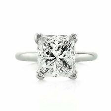 1/4 Cttw. Princess Solitaire 14k White Gold Diamond Engagement Ring