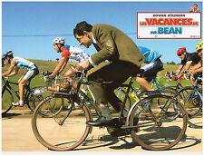 ROWAN ATKINSON tour de france cyclisme vélo LOBBY CARD PHOTO VACANCES DE MR.BEAN