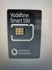 Vodafone UK  EU SMART  4g  SIM  Card  for Cameras Trackers Pet Gps  etc.