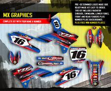 2014 2015 YAMAHA YZ 250F / YZ 450F GRAPHICS KIT MOTOCROSS DIRT BIKE DECALS