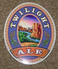 DESCHUTES BREWERY Twilight Ale STICKER decal craft beer brewing