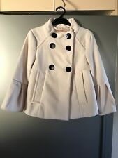 Cooper St Cream Jacket/Short Coat Size 8 Pre-Owned in Good Condition $35