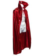 "Luchador Adult Size 54"" Metallic Halloween Costume Cape - RED"