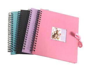 Scrapbook, Photo Album, Display Book, Art & Craft Book With Ribbon 50 Cream Page