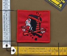 """Ricamata / Embroidered Patch Devgru """"Bloody Indian Red"""" with VELCRO® brand hook"""