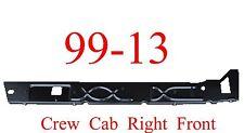 99 13 Right Front Crew Cab Inner Rocker Panel, Chevy GMC Truck, Silverado Sierra