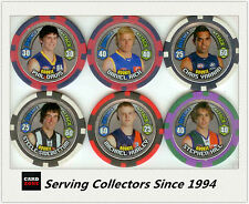 2009 Topps AFL Chipz Silver Rookie Chipz Full Set (16)
