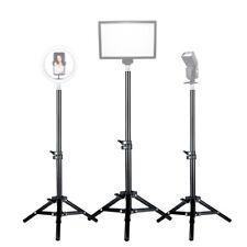 Photography Light Tripod Stand Studio Flash Lamp Reflector Background Lighting
